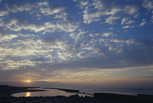 アジュール舞子日の出 海岸通の写真素材 [FYI03346400]
