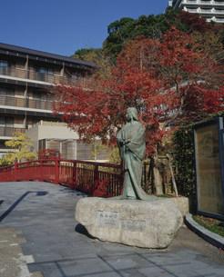 太閤橋とねね像の写真素材 [FYI03346545]