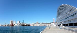 ハーバーランド 神戸港の写真素材 [FYI03346741]