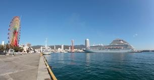 ハーバーランド 神戸港の写真素材 [FYI03346751]