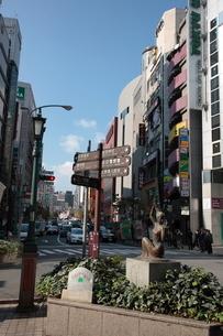 三宮の交差点の写真素材 [FYI03346759]