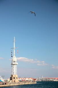 ハーバーランド 神戸港の写真素材 [FYI03346762]