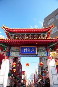 神戸 南京町の写真素材 [FYI03346772]