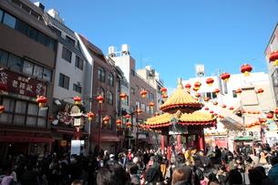 神戸 南京町の写真素材 [FYI03346782]
