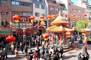 神戸 南京町の写真素材 [FYI03346792]