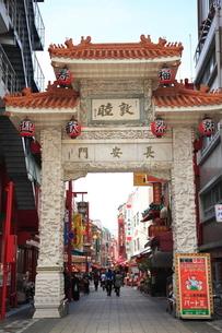 南京町 中華街の写真素材 [FYI03346849]
