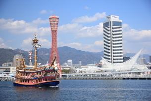 神戸 ハーバーランド の写真素材 [FYI03346901]