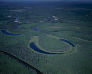 ユーコン川の写真素材 [FYI03346919]