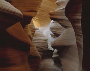 ナバホ居留地のアンテロープクリークの写真素材 [FYI03347022]