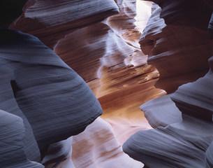 ナバホ居留地のアンテロープクリークの写真素材 [FYI03347023]