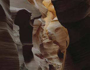 ナバホ居留地のアンテロープクリークの写真素材 [FYI03347027]