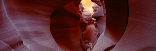 アンテロープクリーク ナバホ居留地の写真素材 [FYI03347250]
