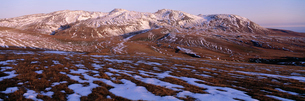 白頭山 斑雪の写真素材 [FYI03347307]