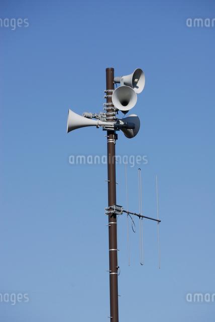 野外拡声器の写真素材 [FYI03347963]