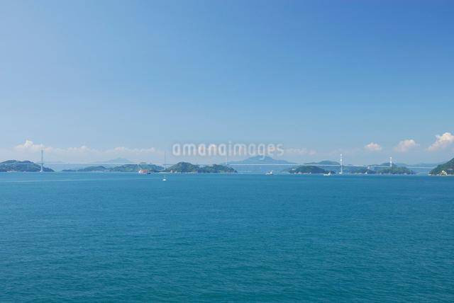 瀬戸内海としまなみ海道の写真素材 [FYI03347982]