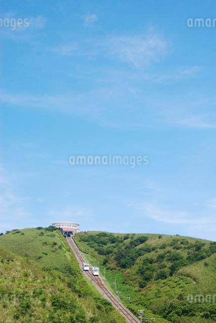 十国峠ケーブルカーの写真素材 [FYI03347994]