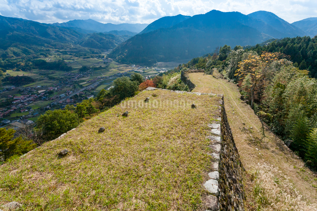 津和野城跡の写真素材 [FYI03348356]