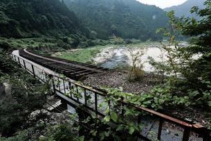 廃線の鉄橋 可部線の写真素材 [FYI03348530]
