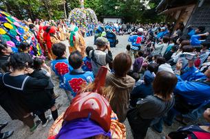 三谷神社の祭りの写真素材 [FYI03348832]
