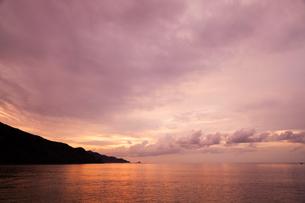 島根半島の夕暮れの写真素材 [FYI03348896]