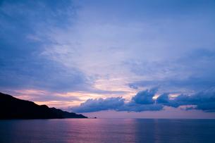 島根半島の夕暮れの写真素材 [FYI03348898]