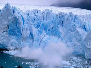 氷河の写真素材 [FYI03350221]