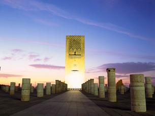 ハッサンの塔の写真素材 [FYI03350224]