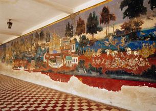 ラーマーヤナの壁画の写真素材 [FYI03350416]