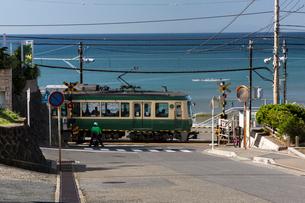 江ノ島電鉄車両の写真素材 [FYI03350903]