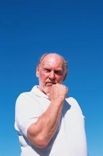 外国人の老人男性の写真素材 [FYI03351811]