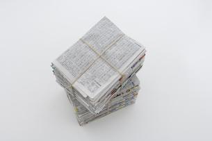 束ねた古新聞の写真素材 [FYI03352189]
