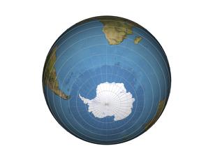 南半球(3DCG)の写真素材 [FYI03353206]