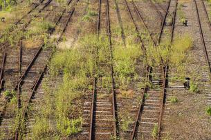 廃線の線路の写真素材 [FYI03353414]