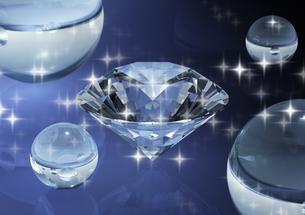 ダイヤモンドと光の写真素材 [FYI03353458]