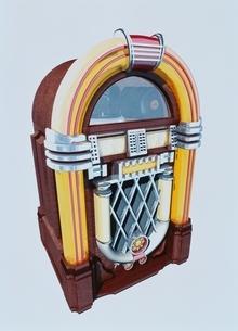 ジュークボックス CGのイラスト素材 [FYI03353632]