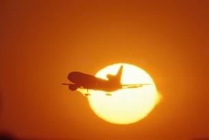 飛行機の写真素材 [FYI03353895]