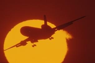 飛行機の写真素材 [FYI03353897]
