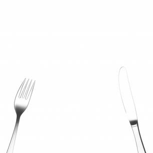 フォークとナイフの写真素材 [FYI03354020]