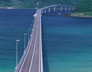 角島大橋   山口県の写真素材 [FYI03354091]