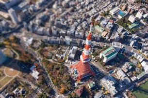 東京タワーの写真素材 [FYI03354412]