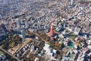 東京タワーの写真素材 [FYI03354418]