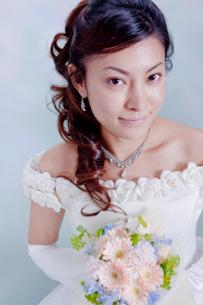 花嫁ブライダルイメージの写真素材 [FYI03354457]
