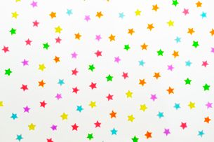 星形の砂糖菓子の写真素材 [FYI03354726]