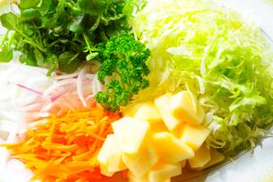 野菜サラダの写真素材 [FYI03354768]