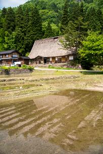富山県五箇山相倉合掌造り集落 の写真素材 [FYI03355317]