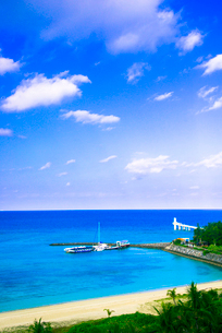 ブセナ海中公園の写真素材 [FYI03355500]