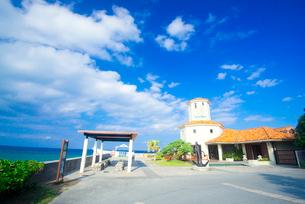 ブセナ海中公園海中展望塔の写真素材 [FYI03355502]