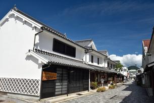 柳井の白壁の町並みの写真素材 [FYI03356072]