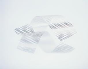 2本のパンチングテープの写真素材 [FYI03356237]