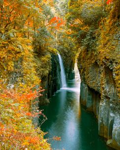 高千穂峡真名井の滝の写真素材 [FYI03356271]
